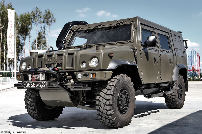 Military-technical forum ARMY-2017 - Static displays part 2: Armored and tactical vehicles, trucks and chassis