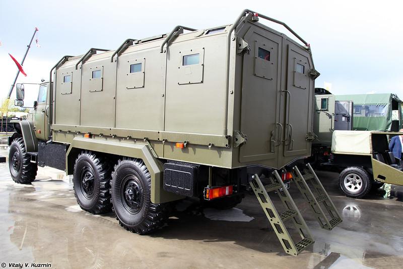 Автомобиль специальный бронированный Куб на шасси Урал-4320 (Kub armored vehicle on Ural-4320 chassis)