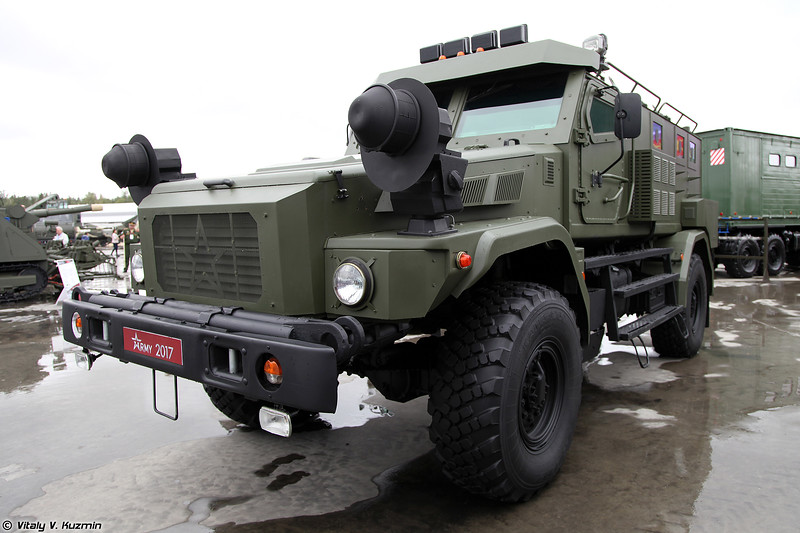 Бронеавтомобиль КАМАЗ Патруль (KAMAZ Patrul armored vehicle)