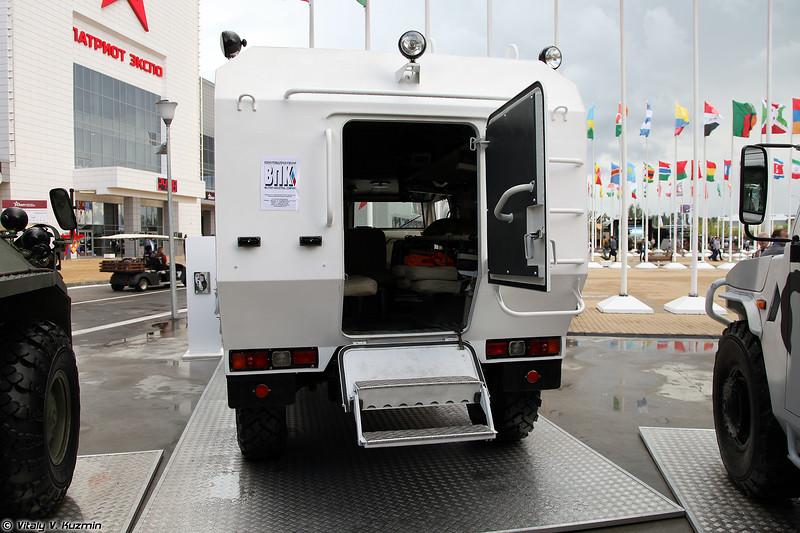 Бронированный медицинский автомобиль БМА Тигр (Armored medical vehicle BMA Tigr)