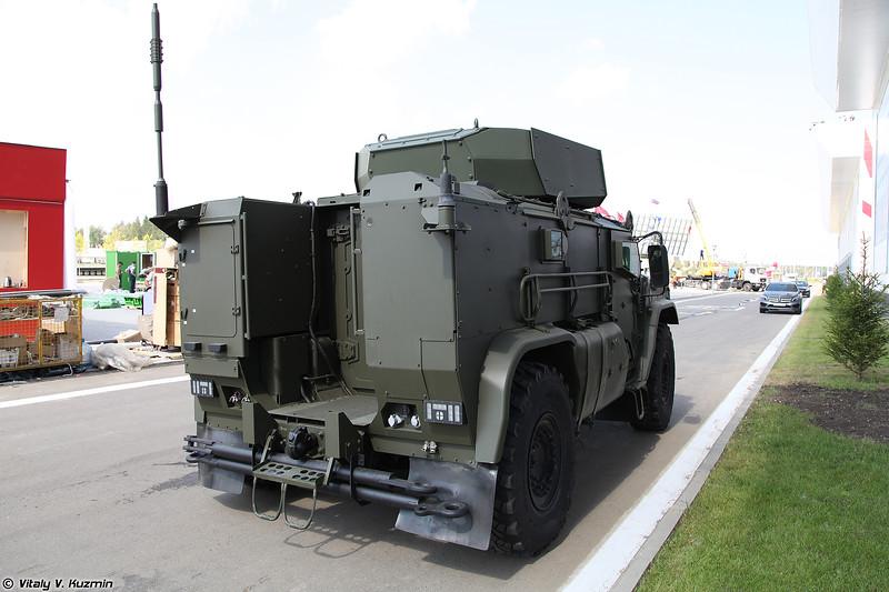 Бронеавтомобиль Тайфун К-4386 / КАМАЗ-4386 Тайфун-ВДВ (Typhoon K-4386 / KAMAZ-4386 Typhoon-VDV)