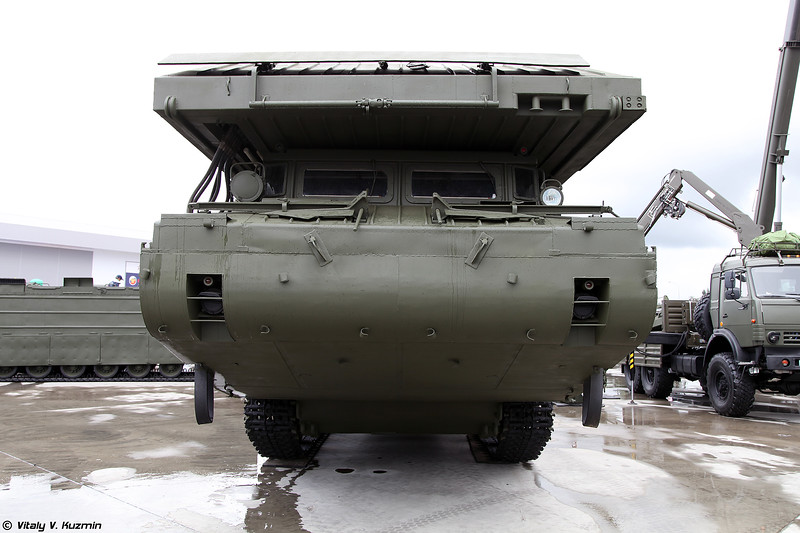 Паромно-мостовая машина ПММ-2М (PMM-2M self-propelled ferry vehicle)