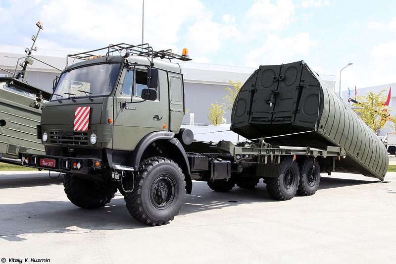 Понтонный парк ПМП-М (Pontoon vehicle PMP-M)