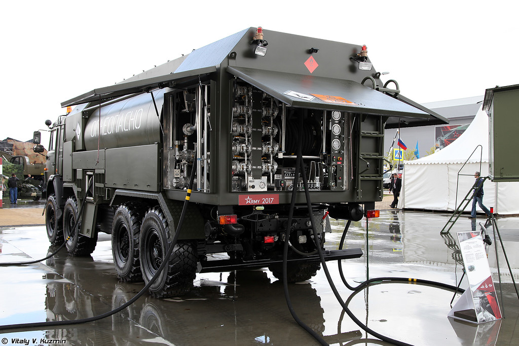 Автотопливозаправщик АТЗ-12-10-63501 (ATZ-12-10-63501 fuel truck)