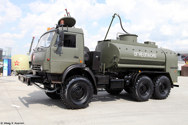 Автотопливозаправщик АТЗ-7-5350 (ATZ-7-5350 fuel truck)
