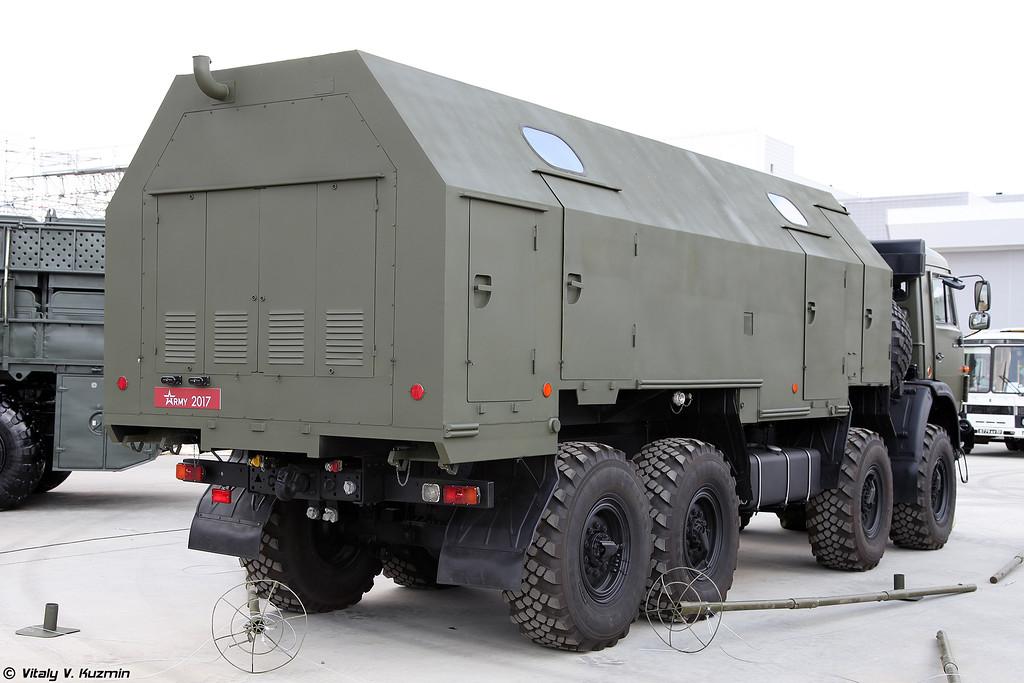 Мобильный комплекс доочистки и консервирования воды МККВ-1000 (MKKV-100 water treatment and preservation unit)