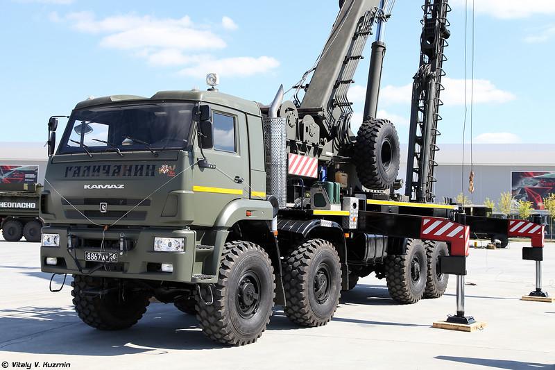 Универсальный сваебойный агрегат УСА-2 (USA-2 pile driving vehicle)