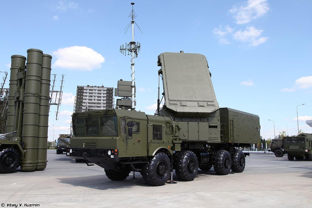 Многофункциональная РЛС 92Н6А ЗРС С-400 (92N6A radar for S-400 system)