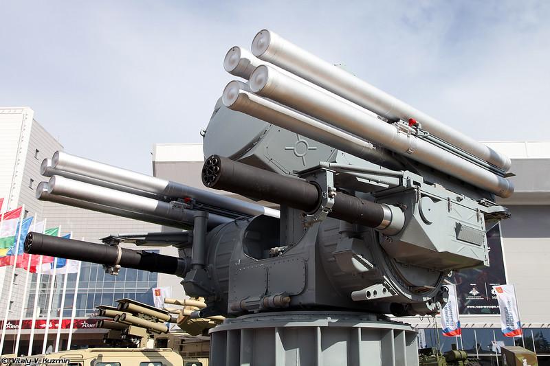 Корабельный ЗРПК Панцирь-МЕ (Pantsir-ME naval air defence system)