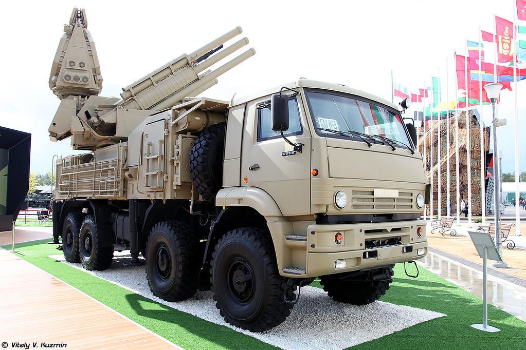 ЗРПК 96К6 Панцирь-С1 с новой СОЦ (96K6 Pantsir-S1)