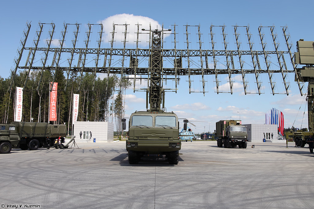 РЛК 55Ж6М Небо-М - Радиолокационный модуль метрового диапазона волн РЛМ-М (55Zh6M Nebo-M radar system - RLM-M radar)
