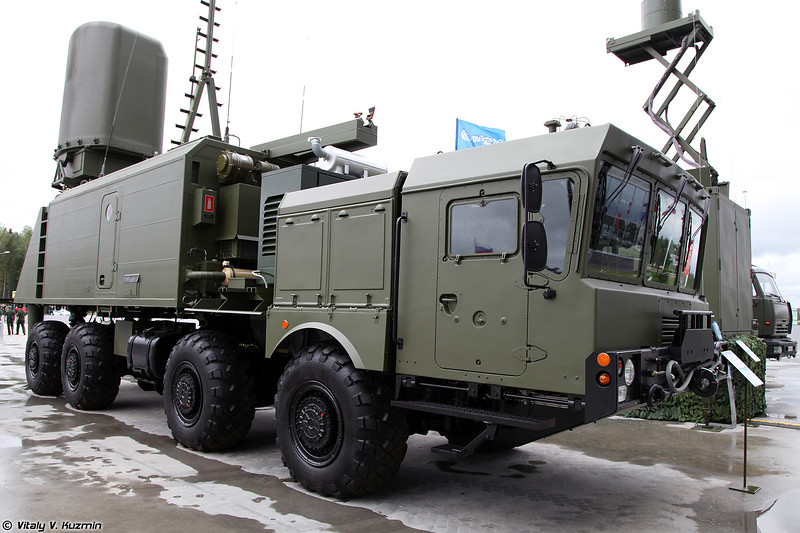 Самоходный командный пункт управления и связи БРК Бал-Э (Bal-E command vehicle)