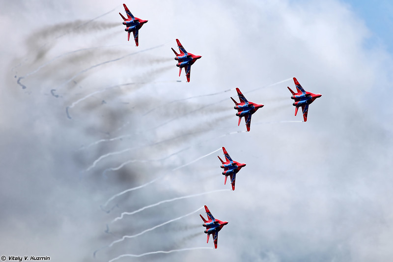 АГВП Стрижи (The Swifts / Strizhi aerobatics team)