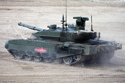 Танк Т-90М (T-90M main battle tank)