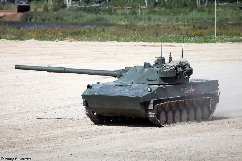 2С25 Спрут-СД (2S25 Sprut-SD self-propelled tank destroyer)