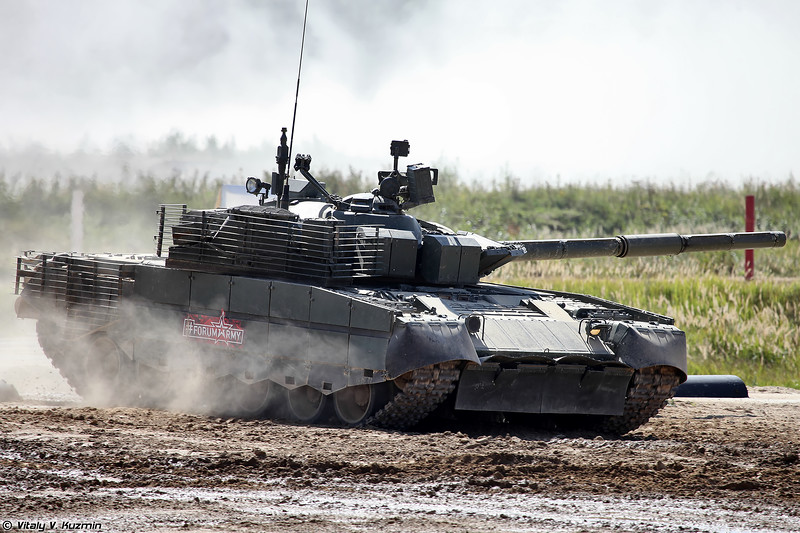 Танк Т-80БВМ (T-80BVM main battle tank)