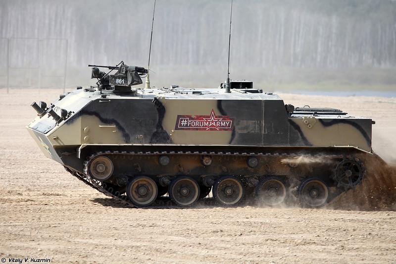 Бронетранспортер БТР-МДМ (BTR-MDM armored personnel carrier)