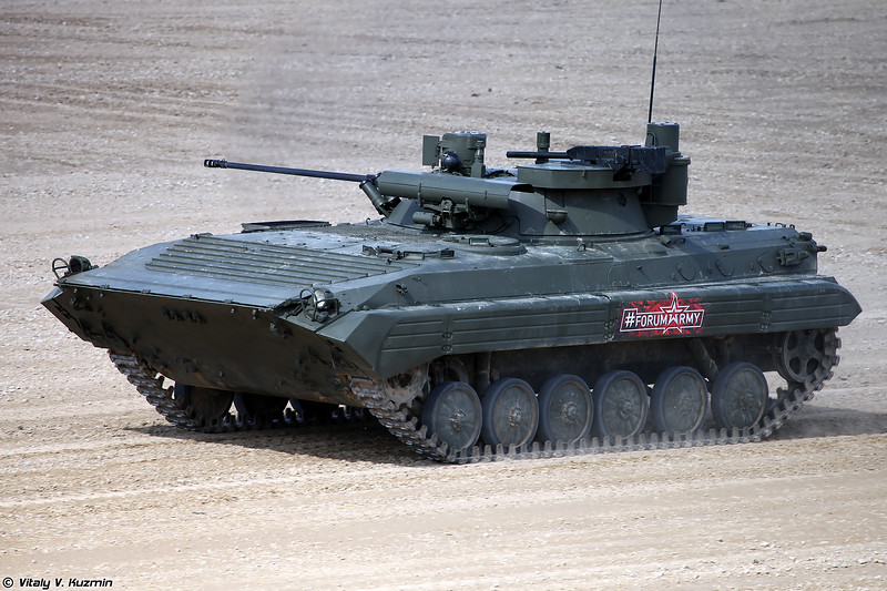 БМП-2М с боевым модулем Б05Я01  Бережок (BMP-2M with B05Ya01 Berezhok turret)