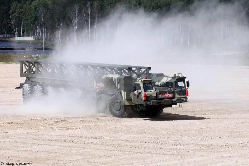 Специальное колёсное шасси КАМАЗ-7850 Платформа-О (KAMAZ-7850 Platforma-O chassis)