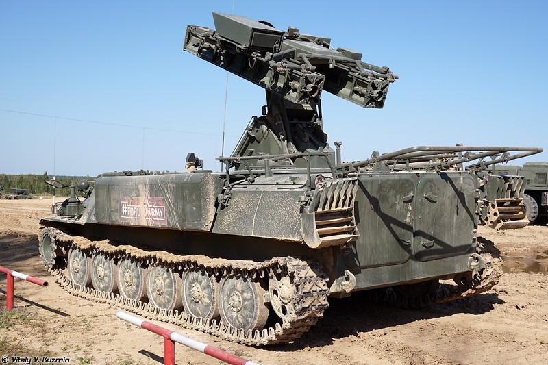 ЗРК 9К35МН Стрела-10МН (9K35MN Strela-10MN SAM system)