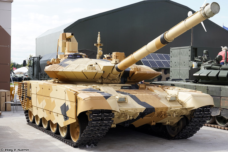 Танк Т-90МС (T-90MS main battle tank)