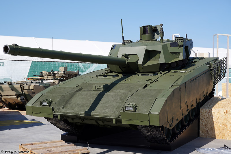 Military-technical forum ARMY-2018 - Static displays part 1: Tanks, IFVs and APCs