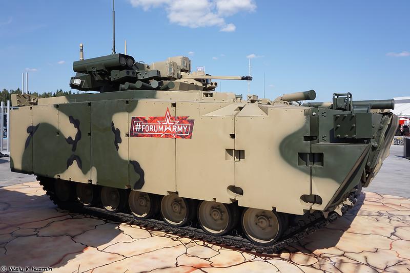 Боевая машина пехоты Б-11 объект 695 на средней гусеничной платформе Курганец-25 (Infantry fighting vehicle B-11 object 695 on medium tracked platform Kurganets-25)