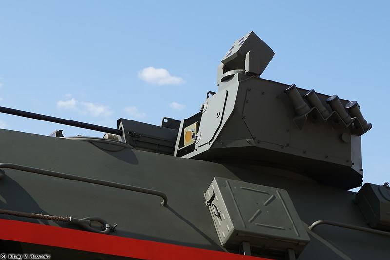 БТР-87 с новым боевым модулем (BTR-87 with new turret)