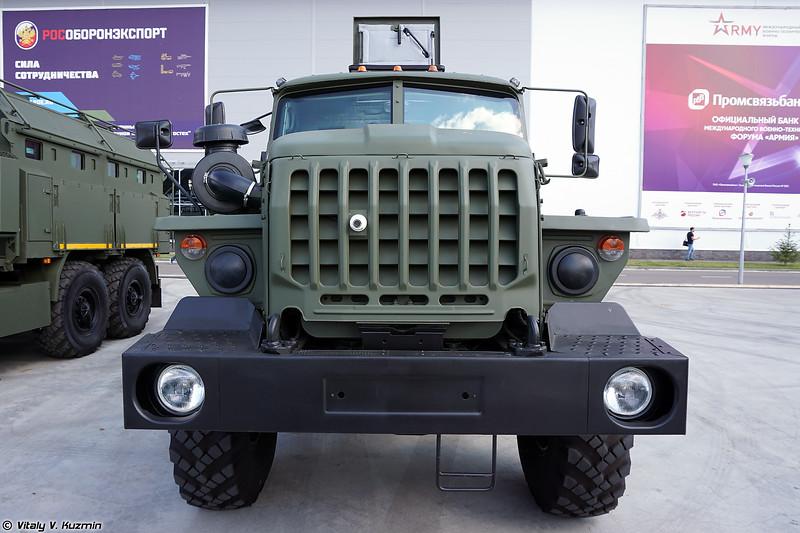 Модернизированный вариант бронеавтомобиля Урал Федерал-42591 (Upgraded Ural Federal-42591 armored vehicle)