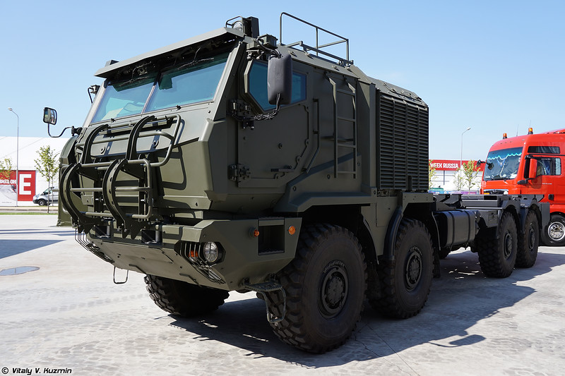 Шасси К-53958 / КАМАЗ-53958 Торнадо (K-53958 / KAMAZ-53958 Tornado chassis)