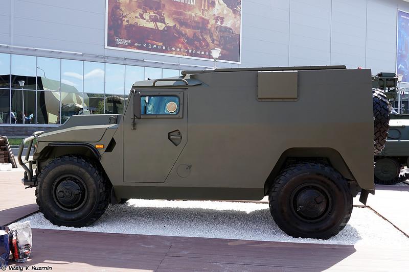 ПТРК Корнет-Д на шасси АМН 233114 Тигр-М (Kornet-D ATGM on AMN 233114 Tigr-M chassis)