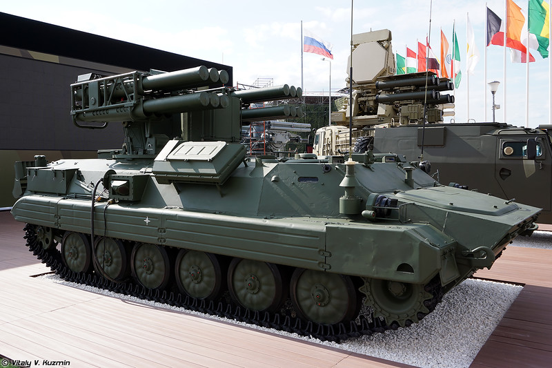 ЗРК Сосна (Sosna air defense missile system)
