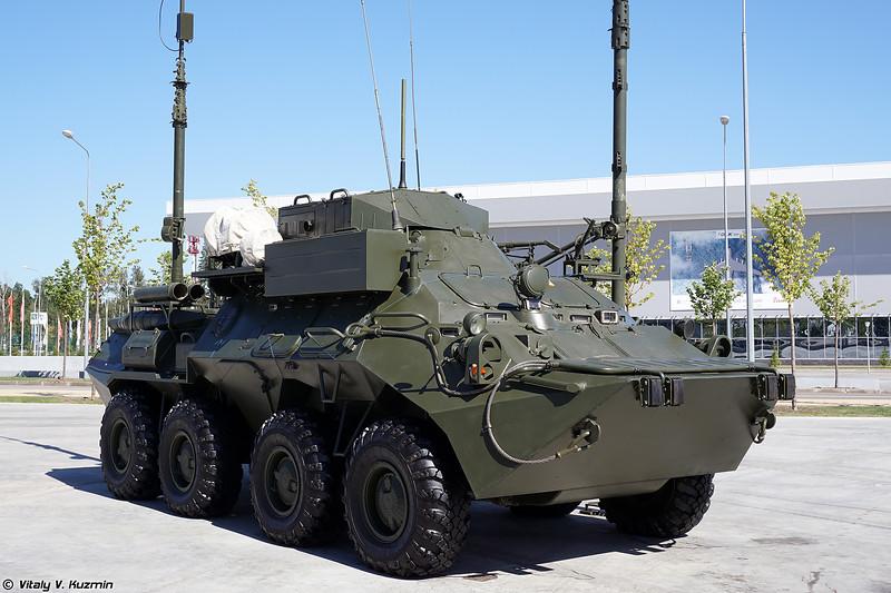 Аппаратная связи МП-1ИМ (MP-1IM signal vehicle)