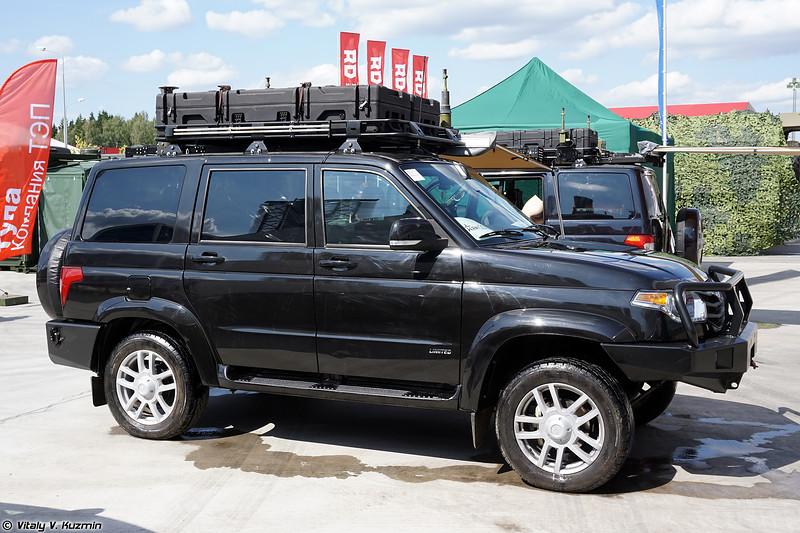 Пункт управления БПЛА типа Орлан-10Е КШМ-БПЛА-МЕТЕО (KShM-BPLA-METEO command vehicle for Orlan-10E type UAVs)