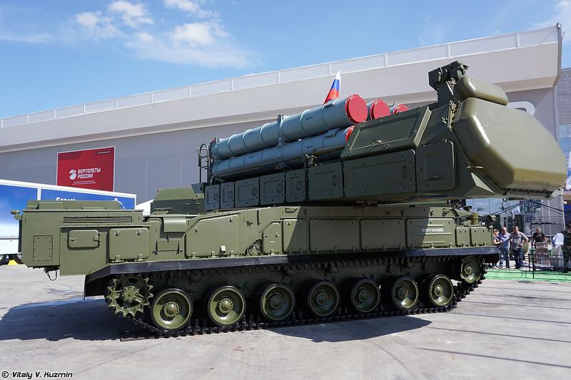 Самоходная огневая установка 9А317М ЗРК 9K317M Бук-M3 (9A317M TELAR of 9K317M Buk-M3 air defence missile system)