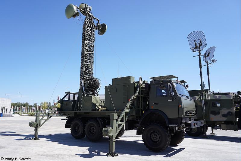 Цифровая радиорелейная станция Р-416ГМ (R-416GM radio relay station)