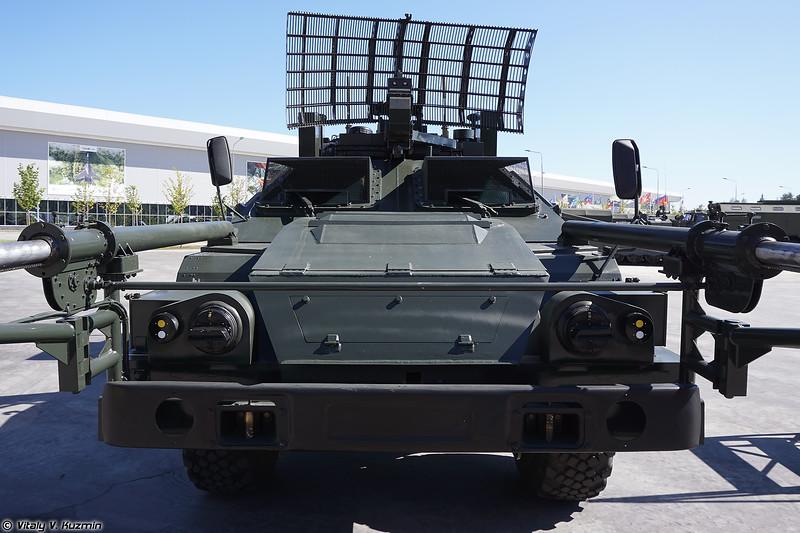 Машина дистанционного разминирования 15М107 Листва на базе КАМАЗ-53269 / СБА-60 Листва-БШ (15M107 Listva mine clearing vehicle on KAMAZ-53269 / SBA-60 Listva-BSh base)