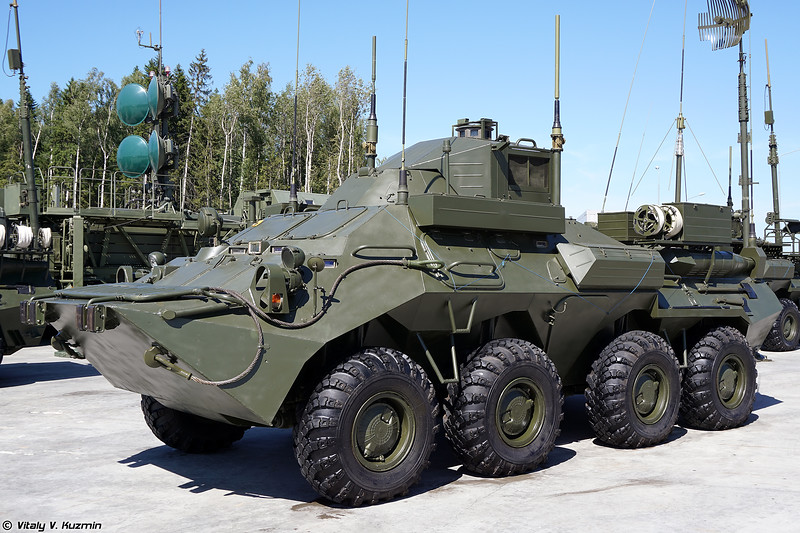 Командно-штабная машина Р-149МА1 (R-149MA-1 command and signal vehicle)