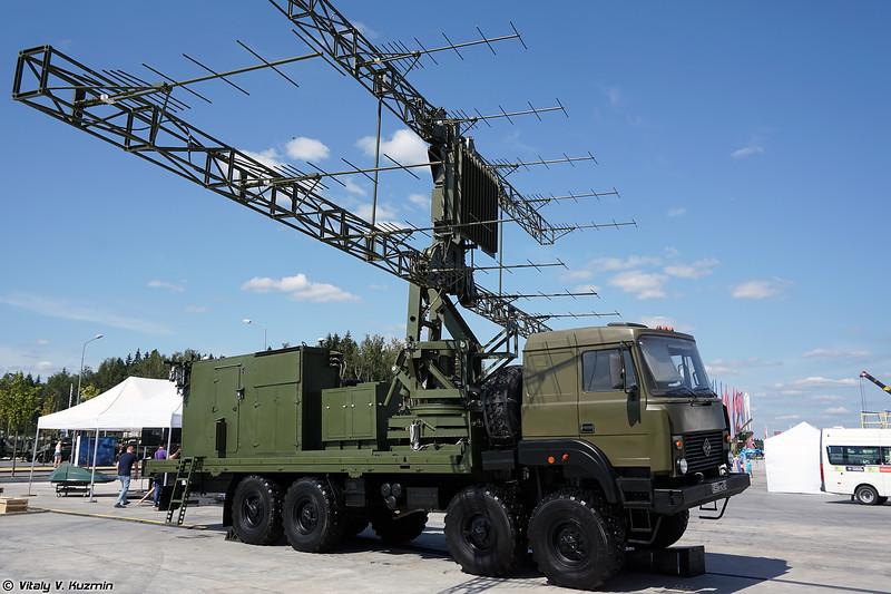 Модернизированная РЛС П-18-2 (Upgraded P-18-2 radar)