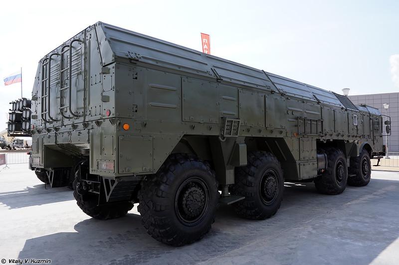 Самоходная пусковая установка 9П78-1 ОТРК 9К720 Искандер-М (9P78-1 TEL of 9K720 Iskander-M SRBM system)