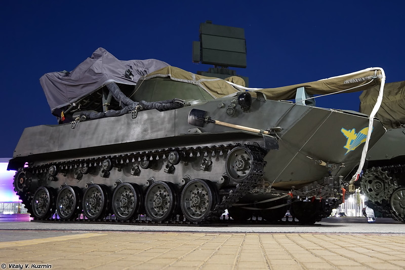 2С9 Нона-С (2S9 Nona-S self-propelled artillery)