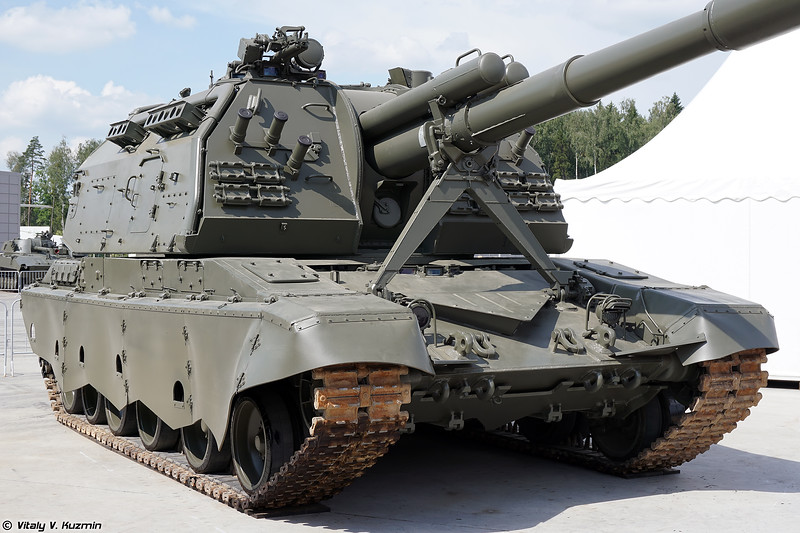 САУ 2С19М2 Мста-С (2S19M2 Msta-S self-propelled howitzer)