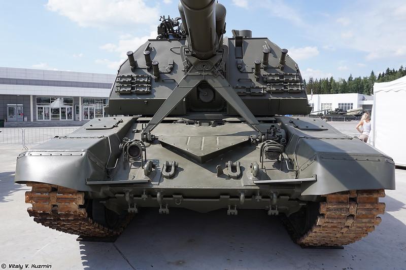 САУ 2С19М2 Мста-С (2S19M2 Msta-S self-propelled howitzer)