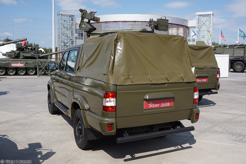 УАЗ-23632-148-65 Пикап (UAZ-23632-148-65 Pickup with weapons mounts)