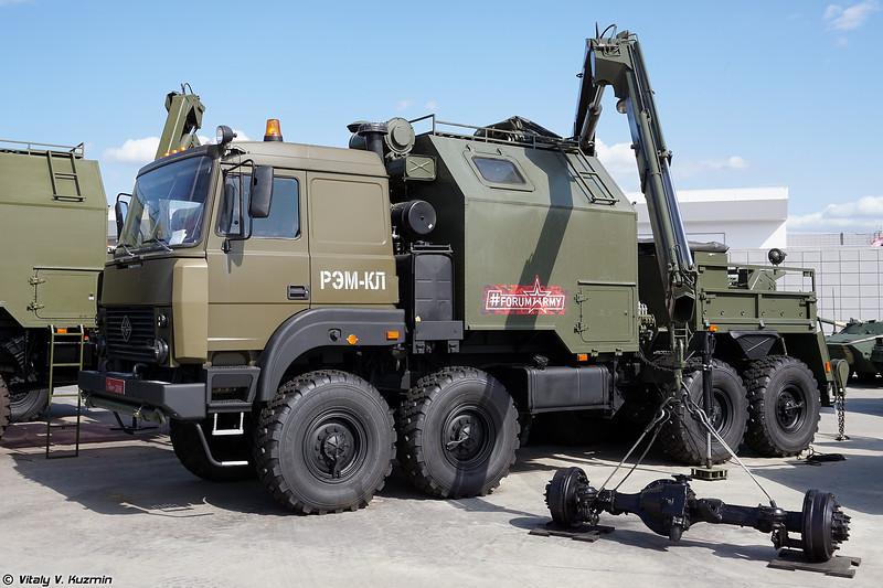 Ремонтно-эвакуационная машина РЭМ-КЛ (REM-KL recovery vehicle)