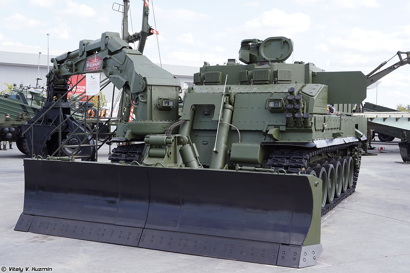 Military-technical forum ARMY-2018 - Static displays part 4: Combat engineering, repair and support vehicles