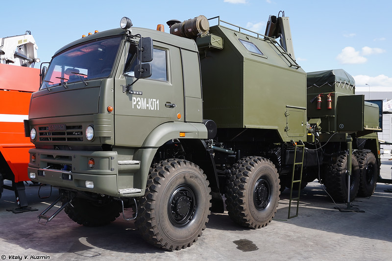 Ремонтно-эвакуационная машина РЭМ-КЛ1 (REM-KL1 recovery vehicle)