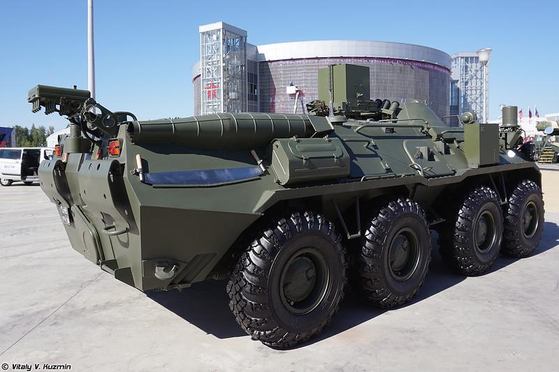 Разведывательная химическая машина РХМ-6 (RKhM-6 CBRN recce vehicle)