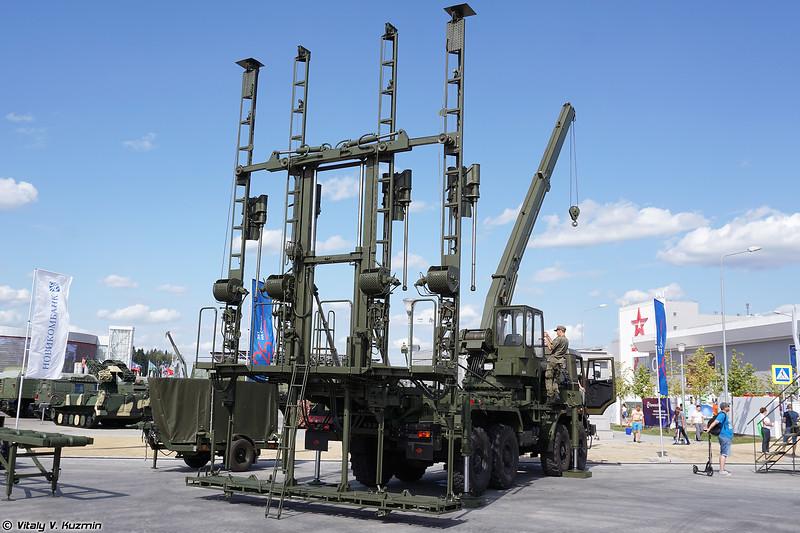 Мостостроительная установка УСМ-3 (USM-3 bridge construction vehicle)