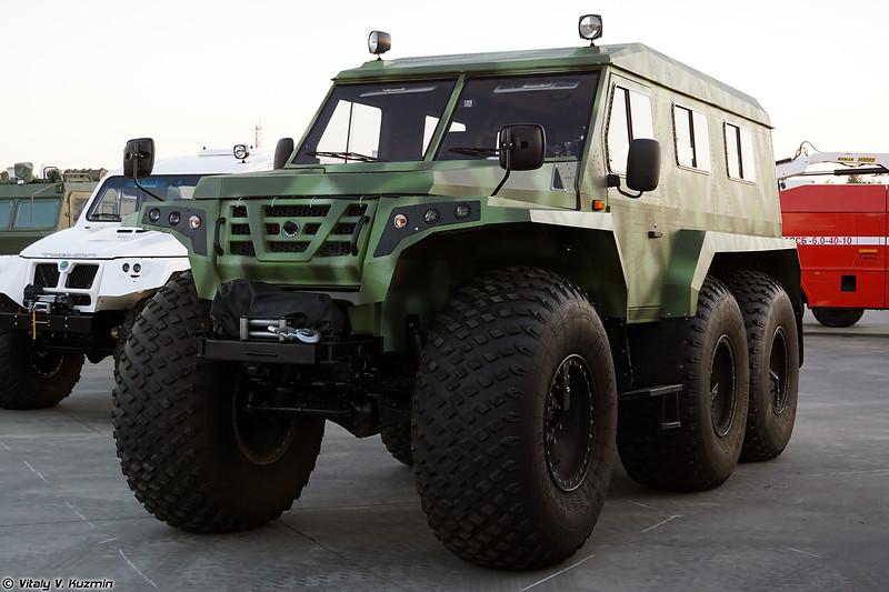 Вездеход ТРЭКОЛ (TREKOL all-terrain vehicle)